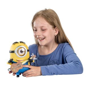 Minions 20cm Minion Stuart Talking Action Figure with Accessory