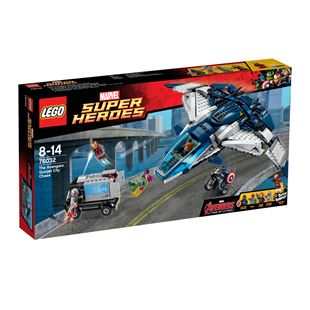 Marvel Super Heroes The Avengers Quinjet City Chase 76032