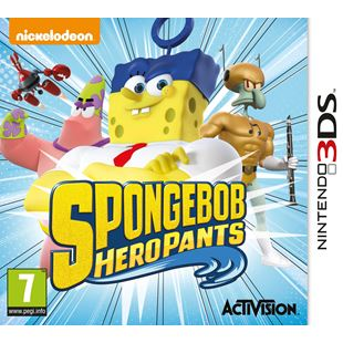 SpongeBob HeroPants 3DS - Exclusive to Smyths Toys Superstores!