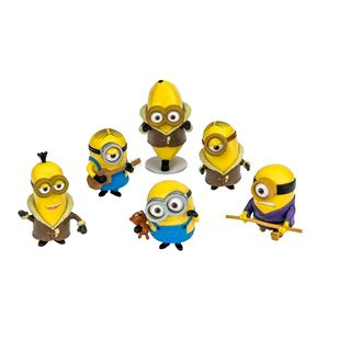 Minions Articulated Action Figure 6 Pack