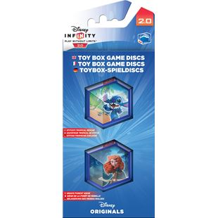 Disney Infinity 2.0 Toy Box Game Discs: Disney Originals