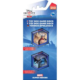 Disney Infinity 2.0 Toy Box Game Discs: Marvel Super Heroes