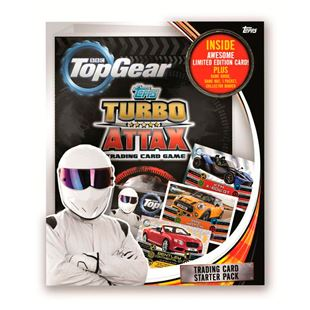 Top Gear Turbo Attax Trading Card Starter Pack
