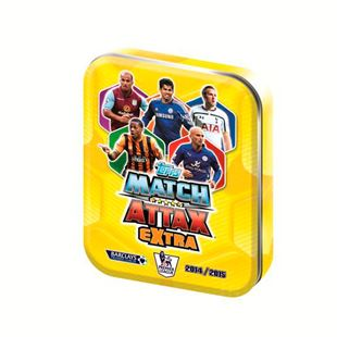 Match Attax Extra 2015 Trading Card Tins