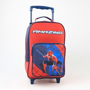 Amazing Spiderman Junior Trolley Bag