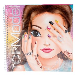 TOPModel Create your Hand-Design Colouring Book