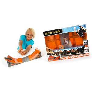 HEXBUG Tony Hawk Circuit Boards Power Board Ramp Set - Half Pipe