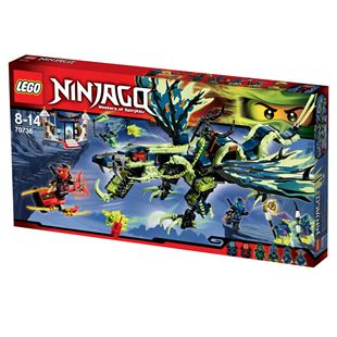 LEGO Ninjago Masters of Spinjitzu Attack of the Morro Dragon 70736