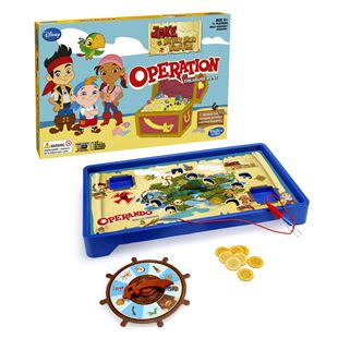 Operation Treasure Hunt Game Jake and the Neverland Pirates Edition
