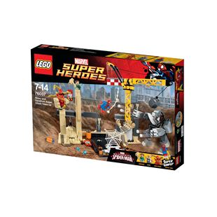 LEGO Marvel Super Heroes Rhino and Sandman Super Villain Team-up 76037