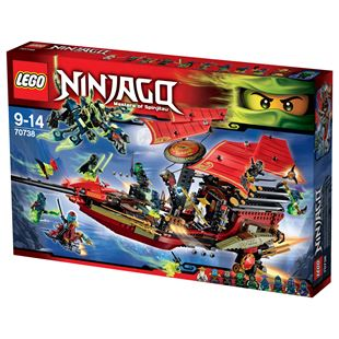 LEGO Ninjago Masters of Spinjitzu Final Flight of Destiny's Bounty 70738