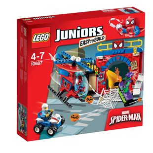 LEGO Juniors Marvel Super Heroes Spider-Man Hideout 10687