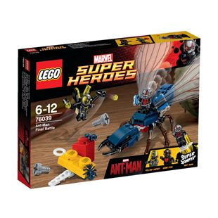 LEGO Super Heroes Ant Man Final Battle 76039