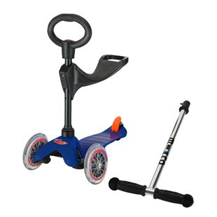 Mini Micro 3 in 1 Scooter - Blue