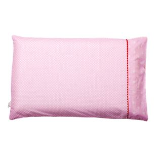 Clevamama Toddler Pillow Case - Pink