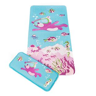Clevamama™ Under The Sea Bath Mat  &  Kneeling Cushion