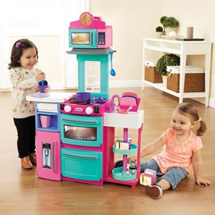 Little Tikes Cook 'N' Store Kitchen - Pink