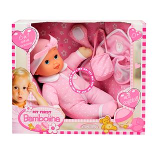 My First Bambolina Doll 6 in 1 Set