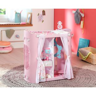 Baby Annabell Baby 2-in-1 Wardrobe and Changing Table