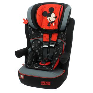 Imax Deluxe Disney Mickey Mouse Group 1-2-3 Car Seat