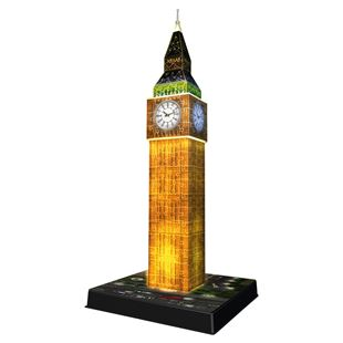 Big Ben 3D Puzzle with Lights