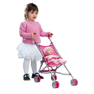 55cm Umbrella Doll Stroller