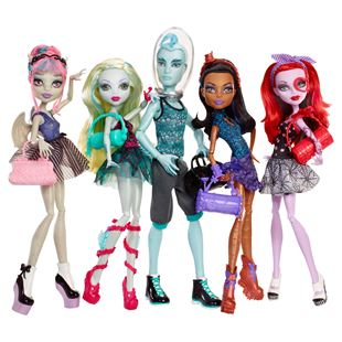 Monster High Dance Class 5 Pack
