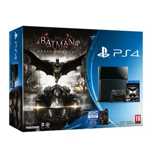 PS4 500GB Batman Arkham Knight Bundle