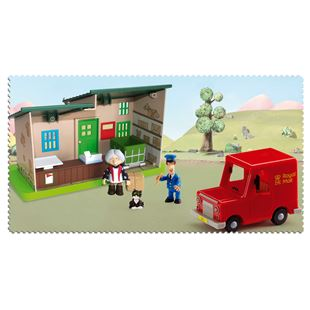 Postman Pat Post Office and Van Playset