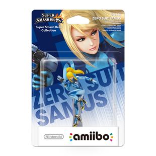 Nintendo amiibo Zero Suit Samus Super Smash Bros series