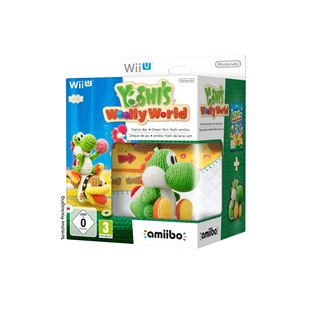 Yoshi's Woolly World Wii U with amiibo