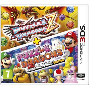Puzzles and Dragons Z + Puzzles and Dragons: Super Mario Bros Edition 3DS