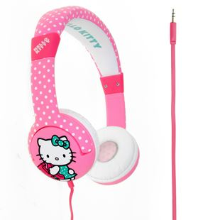 "Hello Kitty ""Dotty Kitty"" Junior Headphones"