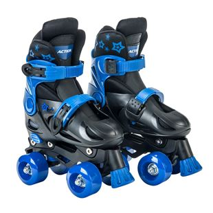 Adjustable Quad Skate 1-3 (UK) Blue/Black