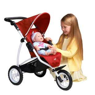 Britax BOB 3 Wheel Jogger in Chili Pepper