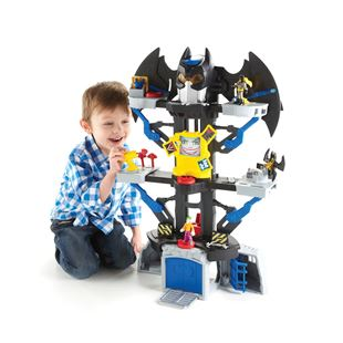Fisher Price Imaginext DC Super Friends Transforming Bat Cave Play Set