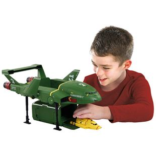 Supersize Thunderbird 2 with Thunderbird 4 Vehicle