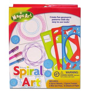 Magic Art Spiral Art Set