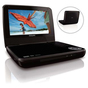 "Philips Portable 7"" DVD Player"