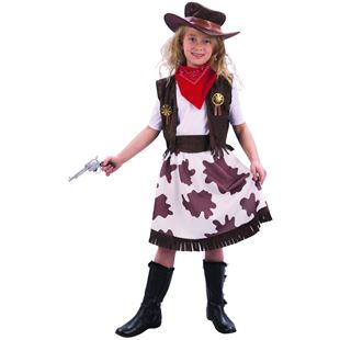 Cow Girl Medium Costume