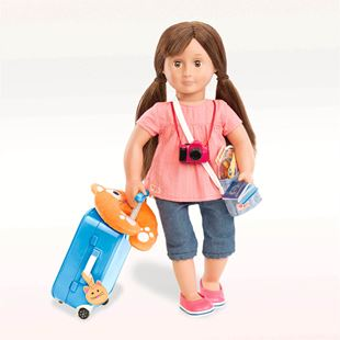 Our Generation Well Travelled Luggage Set