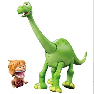Disney Pixar The Good Dinosaur Ultimate Interactive Arlo and Spot Figures