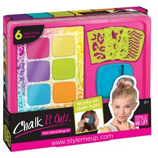 Sytle Me Up Chalk It Out Hair Stenciling Kit