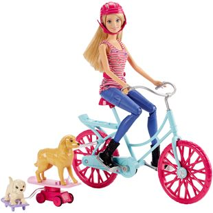 Barbie Great Puppy Adventure Spin 'N Ride Pups