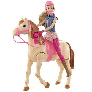 Barbie Saddle 'N Ride Tawny Horse