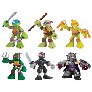 Teenage Mutant Ninja Turtles Half-Shell Heroes 6 Figure Pack