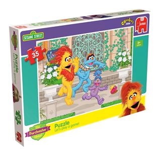 The Furchester Hotel The Sesame Street Puzzle - Assortment