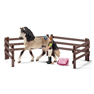 Schleich Horse Care Set - Andalusian