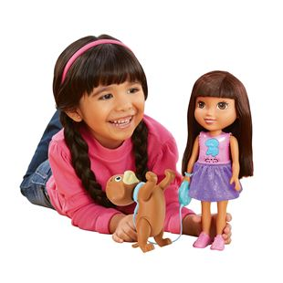 Fisher Price Dora and Friends - Train and Play Dora and Perrito