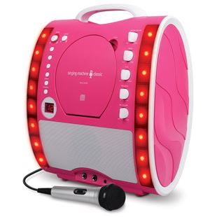 Singing Machine Karaoke SML-343 Pink